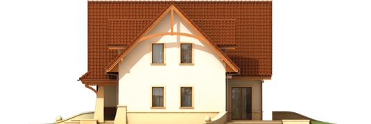 Hely G2 - Projekt domu Helka G2 - elewacja prawa