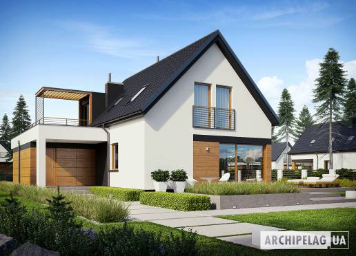 Проект будинку - Е13 (Г1, Економ)