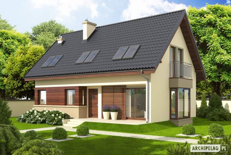 Projekt domu Liv 2 - wizualizacja frontowa