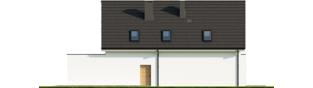 Projekt domu Kosma G2 - elewacja prawa