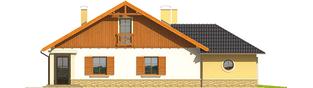 Projekt domu Miriam G2 - elewacja lewa