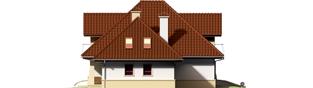 Projekt domu Henry G1 - elewacja prawa