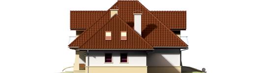 Henry G1 - Projekty domów ARCHIPELAG - Henry G1 - elewacja prawa