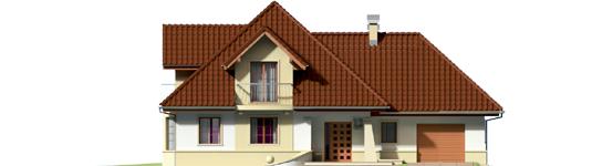 Henry G1 - Projekty domów ARCHIPELAG - Henry G1 - elewacja frontowa