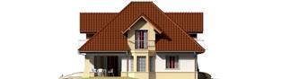 Projekt domu Henry G1 - elewacja lewa