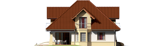 Henry G1 - Projekty domów ARCHIPELAG - Henry G1 - elewacja lewa