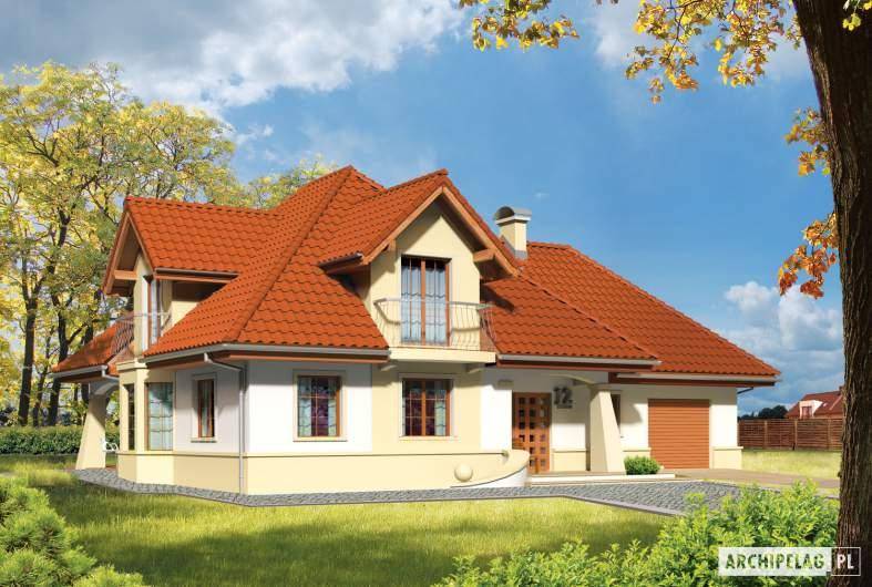 Projekt domu Henry G1 - Projekty domów ARCHIPELAG - Henry G1 - wizualizacja frontowa