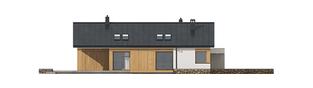 Projekt domu Daniel III G2 - elewacja lewa