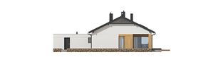 Projekt domu Daniel III G2 - elewacja tylna