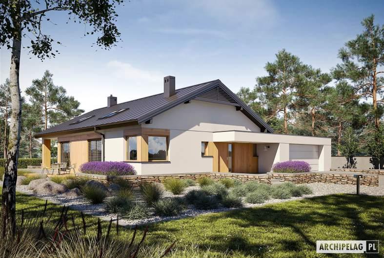 Projekt domu Daniel III G2 - wizualizacja frontowa