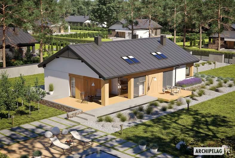 Projekt domu Daniel III G2 - widok z góry