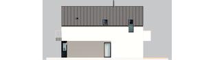 Projekt domu Moniczka III ENERGO PLUS reco - elewacja lewa