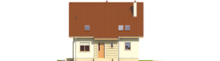 Projekt domu Adriana III (wersja B) - elewacja frontowa