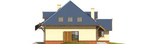 Projekt domu Milo G1 - elewacja lewa
