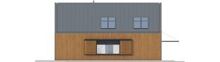 Projekt domu EX 14 soft - elewacja lewa