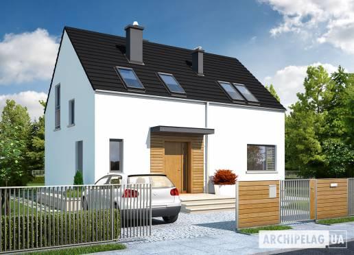 Проект будинку - Е1 (Економ, версія А)