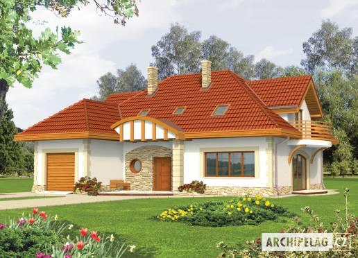 Projekt rodinného domu - Luběna (v. II)