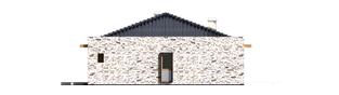 Projekt domu Marlon G1 - elewacja prawa