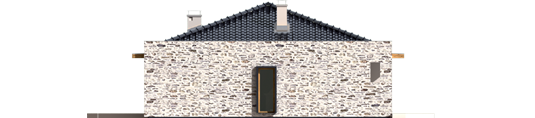 Marlonas G1 A++ - Projekt domu Marlon G1 - elewacja lewa