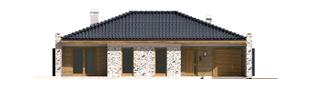Projekt domu Marlon G1 - elewacja frontowa