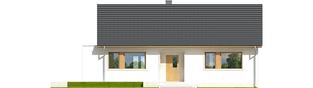 Projekt domu Emi ENERGO PLUS - elewacja frontowa
