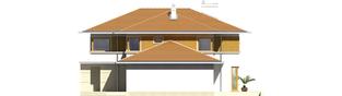 Projekt domu Diego II G2 - elewacja prawa