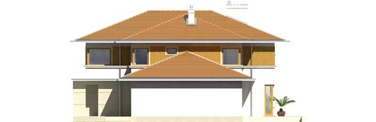 Diegas II G2 - Projekt domu Diego II G2 - elewacja prawa