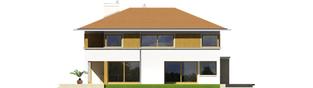 Projekt domu Diego II G2 - elewacja lewa