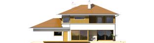 Projekt domu Diego II G2 - elewacja tylna