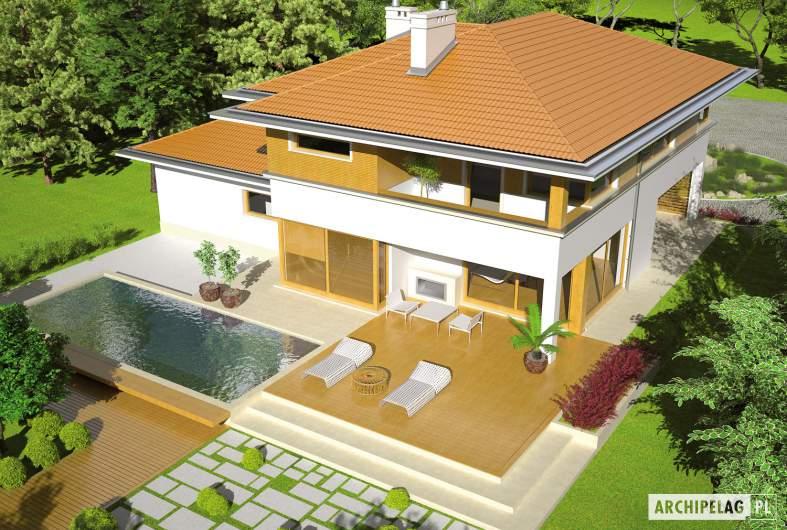 Projekt domu Diego II G2 - widok z góry