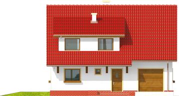 Pelagija G1 - Projekt domu Pelagia G1 - elewacja frontowa