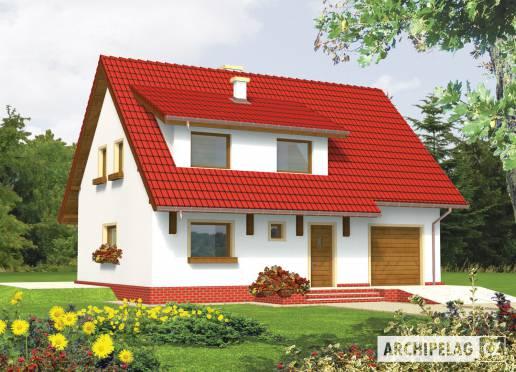 Projekt rodinného domu - Pelagie (G1)