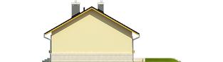 Projekt domu Erin II - elewacja prawa