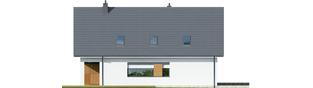 Projekt domu Riko G1 - elewacja lewa