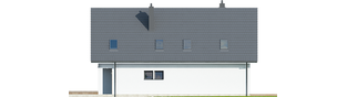 Projekt domu Riko G1 - elewacja prawa