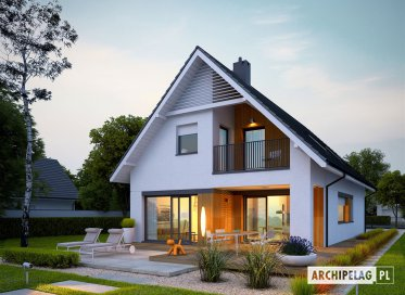 Projekty domów na wąską działkę