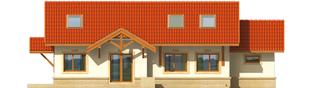 Projekt domu Marcysia G1 - elewacja tylna