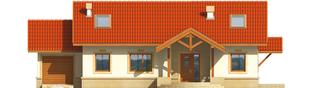 Projekt domu Marcysia G1 - elewacja frontowa