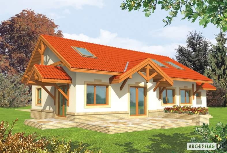 Projekt domu Marcysia G1 -