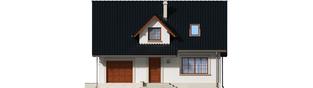 Projekt domu Magnolia II G1 - elewacja frontowa