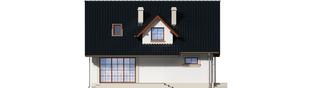 Projekt domu Magnolia II G1 - elewacja tylna