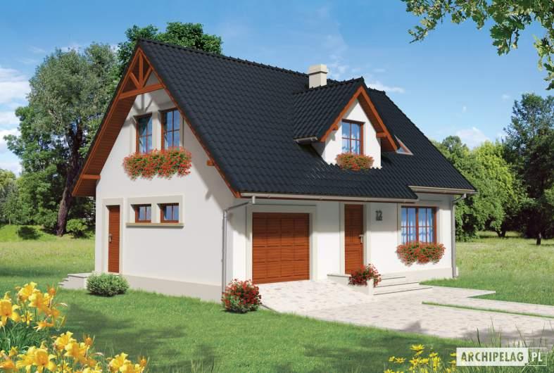 Projekt domu Magnolia II G1 - wizualizacja frontowa