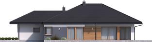 Projekt domu Tanita G2 - elewacja prawa