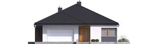 Projekt domu Tanita G2 - elewacja frontowa