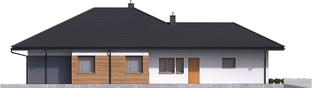 Projekt domu Tanita G2 - elewacja lewa