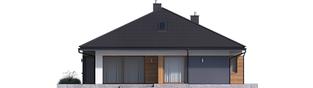 Projekt domu Tanita G2 - elewacja tylna