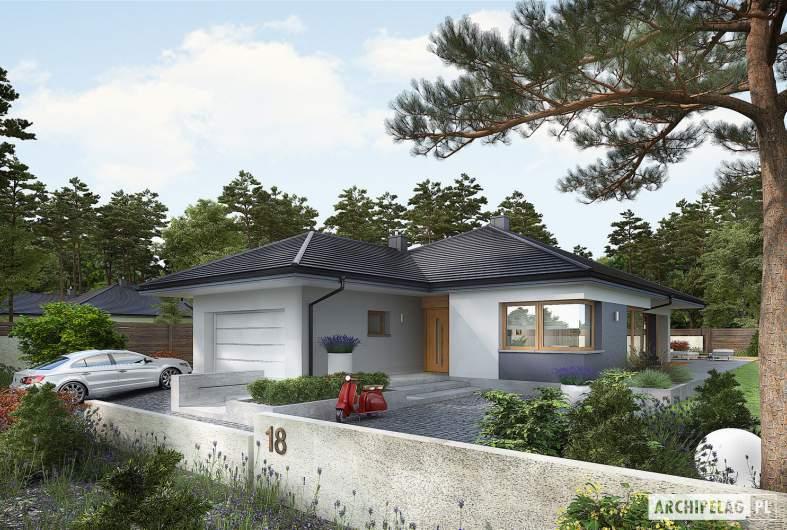 Projekt domu Tanita G2 - wizualizacja frontowa