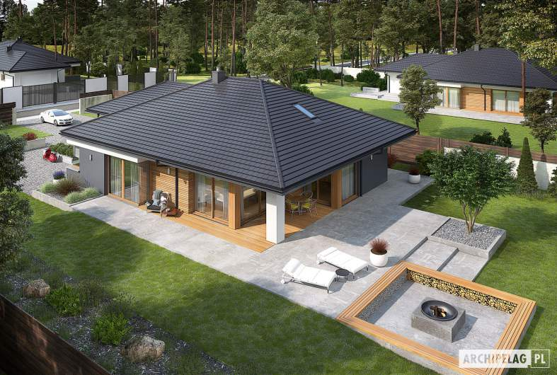 Projekt domu Tanita G2 - widok z góry