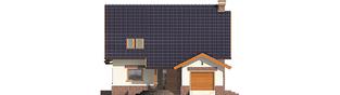 Projekt domu Nastka G1 - elewacja frontowa