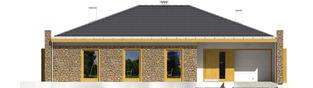 Projekt domu Marlon III G1 - elewacja frontowa
